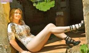 Andrea Kojunski, a sensual Garota Cantu de fevereiro